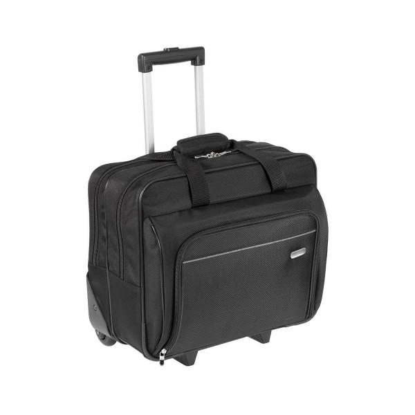 Targus roller executive maleta de transporte portátil de 15.6'' con organizador interno asa telescópica y ruedas