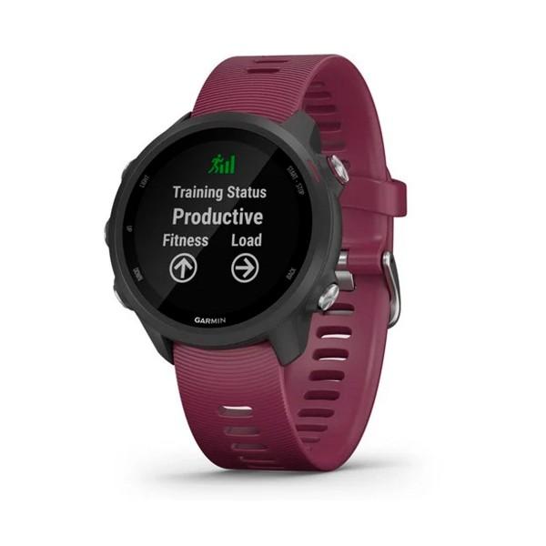 Garmin forerunner 245 42mm granate reloj inteligente de running con gps y monitor de frecuencia cardíaca