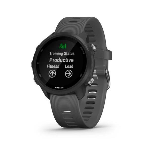 Garmin forerunner 245 42mm gris reloj inteligente de running con gps y monitor de frecuencia cardíaca
