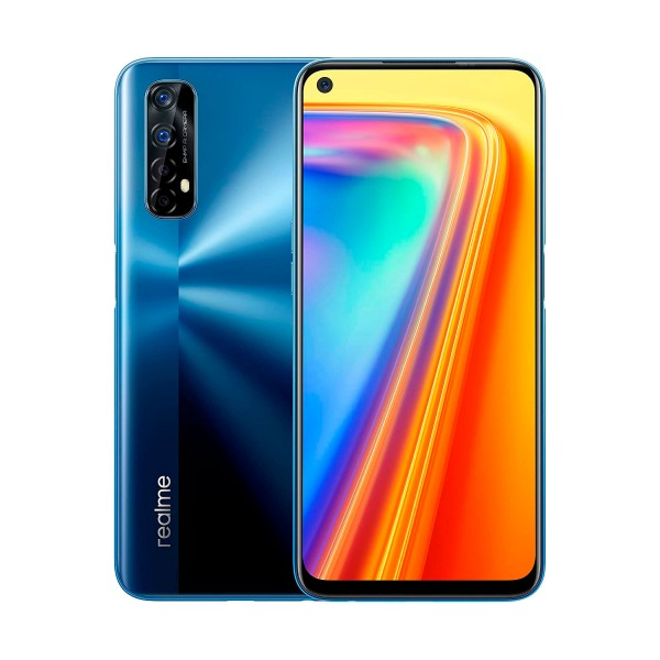 Realme 7 azul móvil 4g dual sim 6.5'' 90hz fullhd+ octacore 64gb 6gb ram quadcam 48mp selfies 16mp